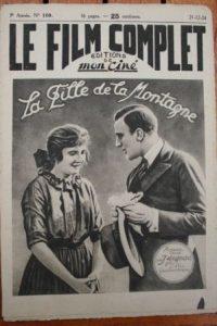 1924 Franck Mayo La Fille De La Montagne