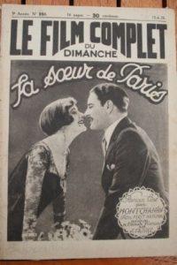 1926 Constance Talmadge Ronald Colman Sister from Paris