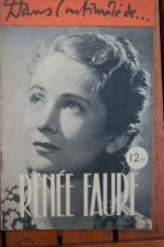 1946 Renee Faure Vintage Magazine