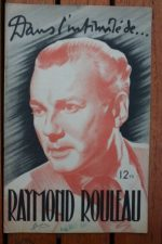 1946 Raymond Rouleau Vintage Magazine