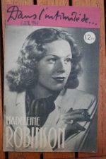 1946 Madeleine Robinson Vintage Magazine
