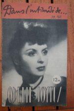 1946 Odette Joyeux Vintage Magazine
