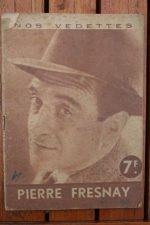 1944 Pierre Fresnay Vintage Magazine