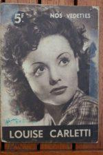 1944 Louise Carletti Vintage Magazine