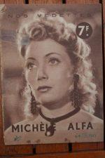 1944 Michele Alfa Vintage Magazine
