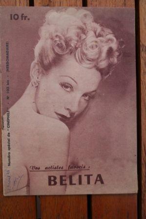 1944 Belita Vintage Magazine
