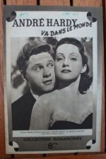1946 Mickey Rooney Cecilia Parker Judy Garland