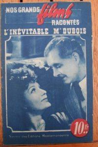 1945 Annie Ducaux Andre Luguet Mony Dalmes Tramel