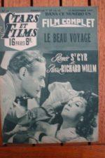 1947 Pierre Richard-Willm Renee Saint-Cyr Andre Valmy