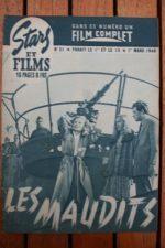 1948 Marcel Dalio Henri Vidal Florence Marly Jo Dest