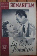 1946 Claude Dauphin Micheline Presle Giselle Pascal