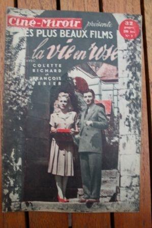 1949 Francois Perier Simone Valere Colette Richard