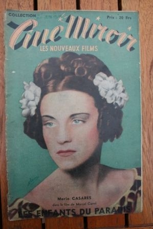1949 Jean-Louis Barrault Arletty Maria Casares Carne