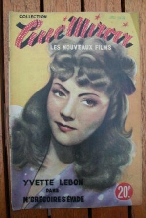 1949 Bernard Blier Yvette Lebon Jules Berry Gaby Andre