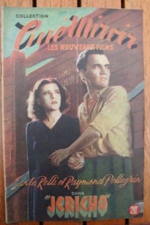 1949 Santa Relli Pierre Brasseur Raymond Pellegrin