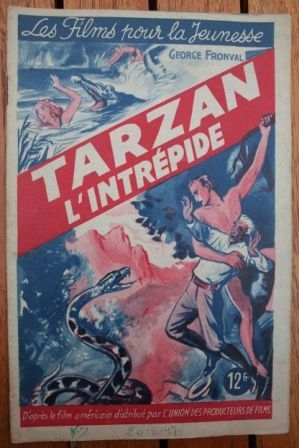 1947 Buster Crabbe Julie Bishop Tarzan the Fearless