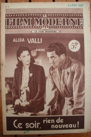 1947 Alida Valli Carlo Ninchi Antonio Gandusio