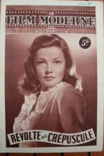 1947 Gene Tierney Bruce Cabot George Sanders