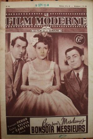1948 Francois Perier Gaby Sylvia Julien Carette