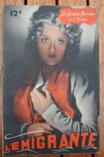 1946 Edwige Feuillere Jean Chevrier Genia Vaury