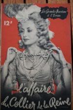 1946 Viviane Romance Maurice Escande Jacques Dacqmine