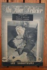 1947 Pat O'Brien Carole Landis Chester Morris