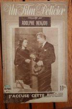 1947 Dennis O'Keefe Adolphe Menjou Marguerite Chapman