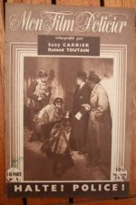 1947 Roland Toutain Suzy Carrier Robert Moncade