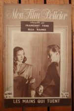 1947 Franchot Tone Ella Raines Alan Curtis