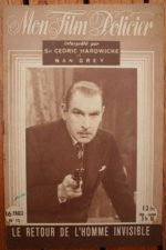 1947 Cedric Hardwicke Vincent Price The Invisible Man