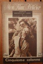 1947 Priscilla Lane Robert Cummings Otto Kruger