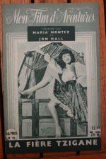 1947 Maria Montez Jon Hall Peter Coe Nigel Bruce