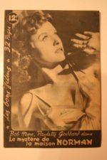 1945 Paulette Goddard Bob Hope John Beal