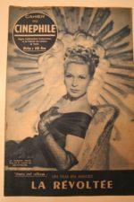 1948 Josette Day Victor Francen Jacques Berthier