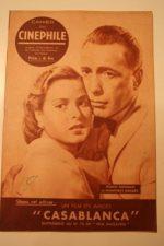 1948 Humphrey Bogart Ingrid Bergman Casablanca