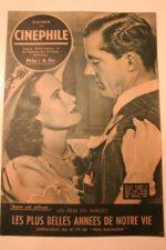 1948 Myrna Loy Dana Andrews Teresa Wright Fredric March