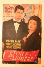 1946 Edith Piaf Serge Reggiani Yves Montand