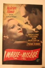 1945 Madeleine Sologne Pierre Renoir Paul Meurisse