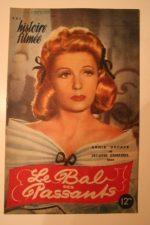 1945 Annie Ducaux Jacques Dumesnil Leon Belieres