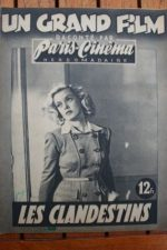 1946 Suzy Carrier Georges Rollin Constant Remy