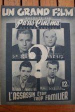 1946 Jacques Charon Paulette Langlais Andre Le Gall