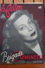 1947 Gisele Preville Gilbert Gil Jean Davy