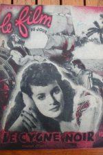 1948 Tyrone Power Maureen O'Hara The Black Swan