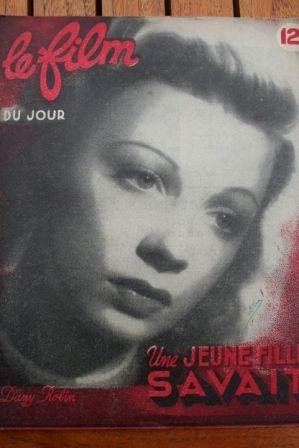 1948 Dany Robin Francois Perier Andre Luguet