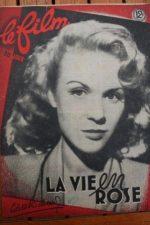 1948 Colette Richard Francois Perier Simone Valere