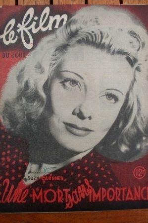 1948 Suzy Carrier Jean-Pierre Kerien Jean Tissier