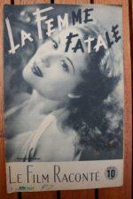 1946 Pierre Brasseur Gaby Sylvia Jacqueline Gauthier