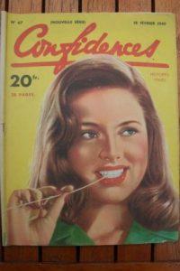 1949 Vintage Magazine Diana Dors