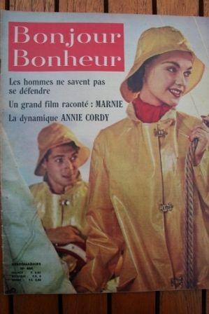 1965 Sean Connery Tippi Hedren Annie Cordy