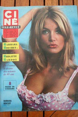Magazine 1966 Aznavour Doris Day Dean Martin James Stewart Jean Claude Pascal